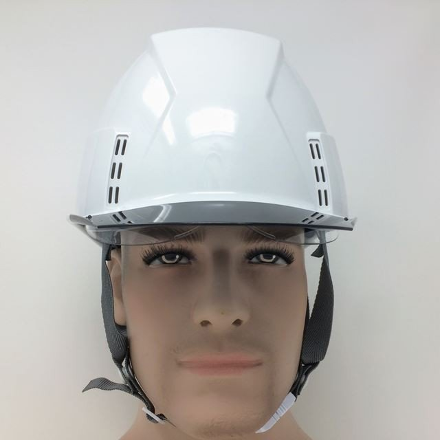 スミハット KKXCS-A 横長コンパクトシールド面付き 作業用 ヘルメット(通気孔付き/圧縮エアーシート)/ 工事用 建設用 建築用 現場用 高所用 安全 保護帽|proshophamada|08