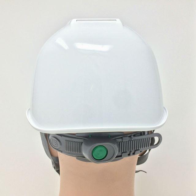スミハット KKXS-A-NCOOL Nクール 横長コンパクトシールド面付き 遮熱ヘルメット(通気孔なし/圧縮エアシート)/ 工事 作業 建設 建築 現場 高所 電気設備工事|proshophamada|09
