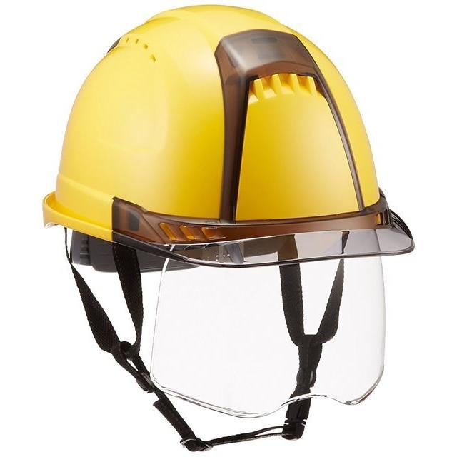 トーヨーセーフティー No.391F ワイドシールド面付き 作業用 ヘルメット Venti plus(通気孔付き/ライナー入り)/ 安全 工事 建設 建築 現場 高所 保護帽|proshophamada|02
