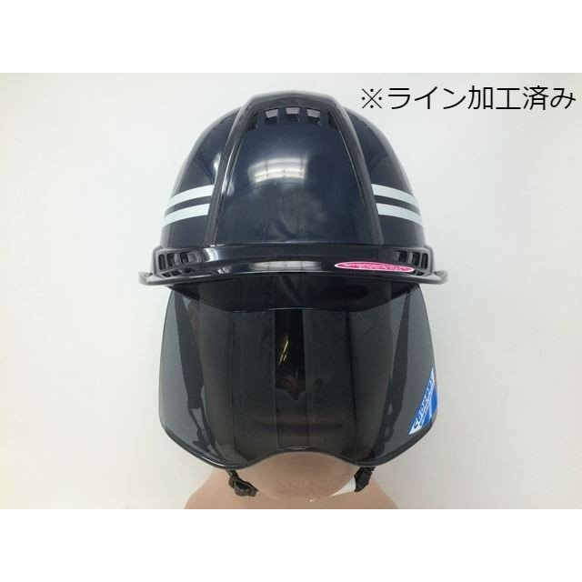 トーヨーセーフティー No.391F ワイドシールド面付き 作業用 ヘルメット Venti plus(通気孔付き/ライナー入り)/ 安全 工事 建設 建築 現場 高所 保護帽|proshophamada|13