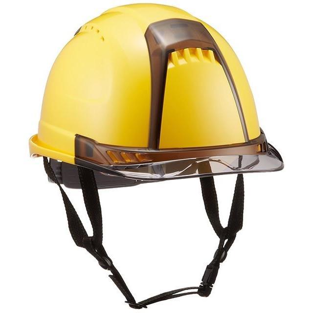 トーヨーセーフティー No.391F ワイドシールド面付き 作業用 ヘルメット Venti plus(通気孔付き/ライナー入り)/ 安全 工事 建設 建築 現場 高所 保護帽|proshophamada|03