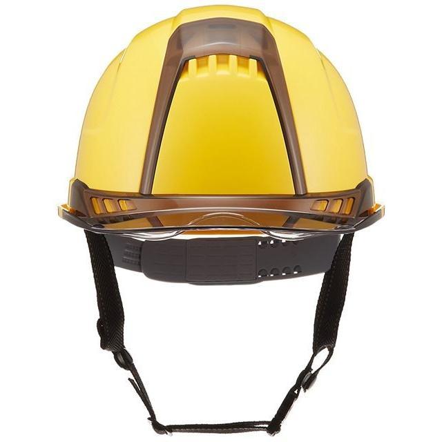 トーヨーセーフティー No.391F ワイドシールド面付き 作業用 ヘルメット Venti plus(通気孔付き/ライナー入り)/ 安全 工事 建設 建築 現場 高所 保護帽|proshophamada|04