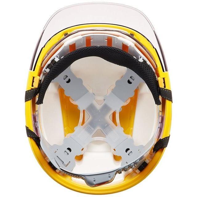 トーヨーセーフティー No.391F ワイドシールド面付き 作業用 ヘルメット Venti plus(通気孔付き/ライナー入り)/ 安全 工事 建設 建築 現場 高所 保護帽|proshophamada|06