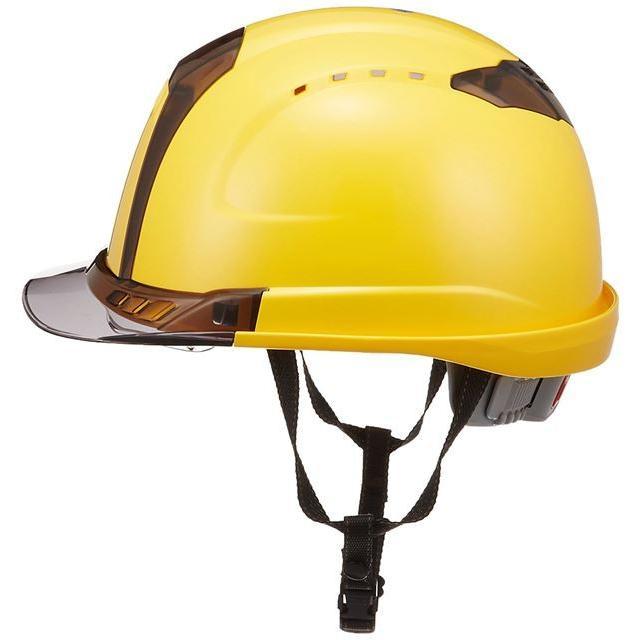 トーヨーセーフティー No.391F ワイドシールド面付き 作業用 ヘルメット Venti plus(通気孔付き/ライナー入り)/ 安全 工事 建設 建築 現場 高所 保護帽|proshophamada|07