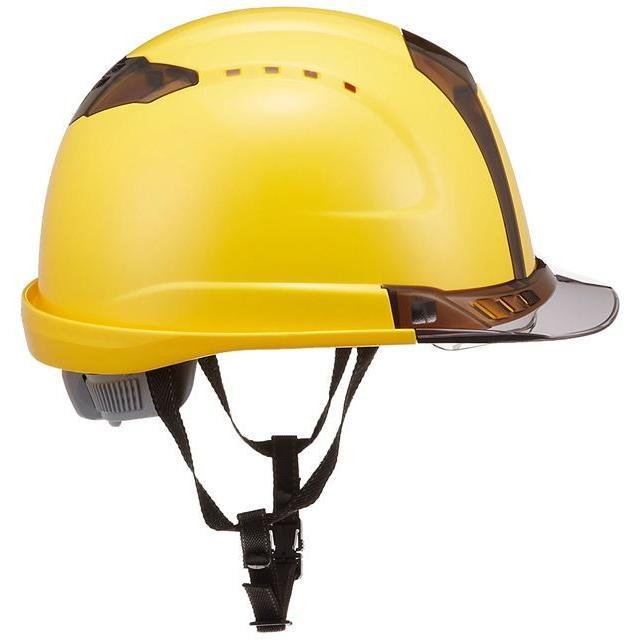 トーヨーセーフティー No.391F ワイドシールド面付き 作業用 ヘルメット Venti plus(通気孔付き/ライナー入り)/ 安全 工事 建設 建築 現場 高所 保護帽|proshophamada|08