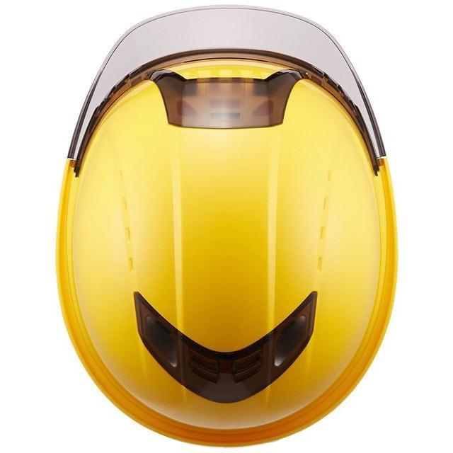 トーヨーセーフティー No.391F ワイドシールド面付き 作業用 ヘルメット Venti plus(通気孔付き/ライナー入り)/ 安全 工事 建設 建築 現場 高所 保護帽|proshophamada|09