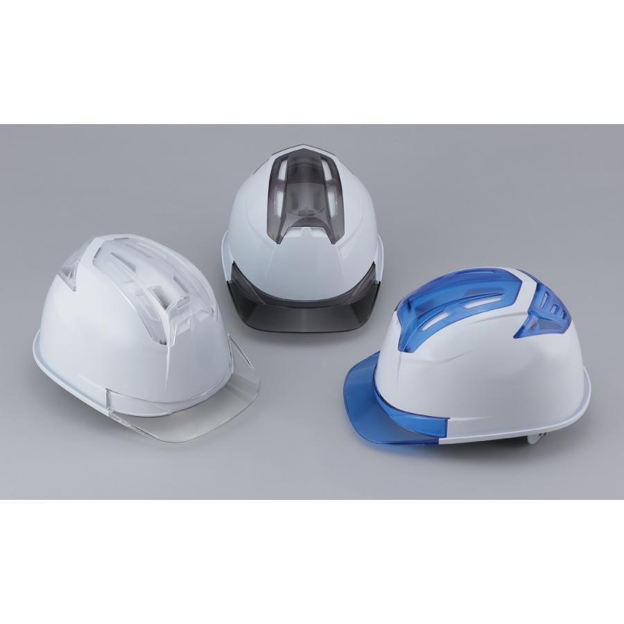 トーヨーセーフティー No.396F 透明ひさし 作業用 ヘルメット Venti IV(大口径通気孔/ライナー入)/  安全 工事用 建設用 建築用 現場用 高所用 保護帽|proshophamada|02