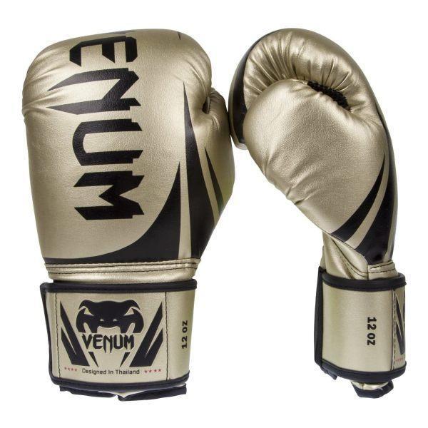 チャレンジャー2.0 ボクシング グローブ ゴールド 14オンス(397g) Venum(ヴェヌム)|proteinusa