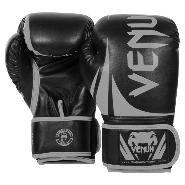 チャレンジャー2.0 ボクシング グローブ ブラック/グレー 10オンス(284g) Venum(ヴェヌム)|proteinusa|02