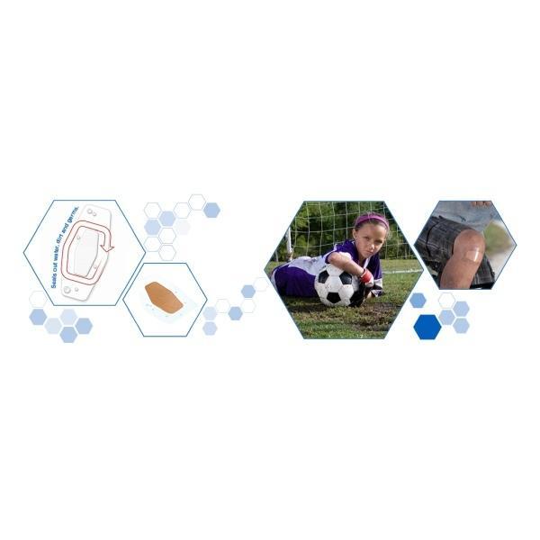 3M Nexcare ネクスケア 防水加工 テープ スリーエム|proteinusa|02
