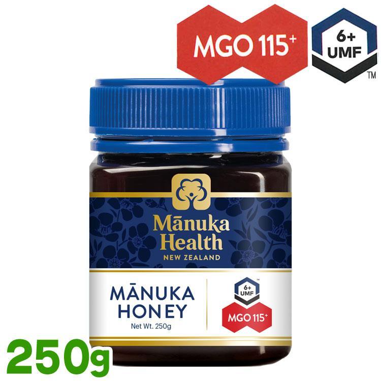 マヌカハニー MGO115+ UMF6+ 250g manukahealth マヌカハニー ニュージーランド産 マヌカ蜂蜜 manuka|protesun