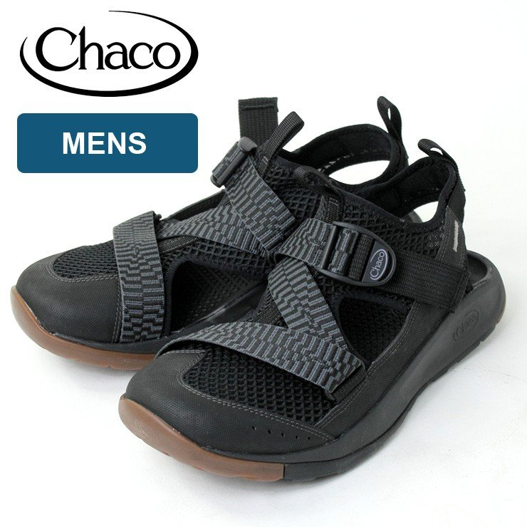 チャコ サンダル Chaco メンズ オデッセイ ブラック サンダル ODYSSEY 26.0cm 27.0cm 28.0cm アウトドア キャンプ protocol