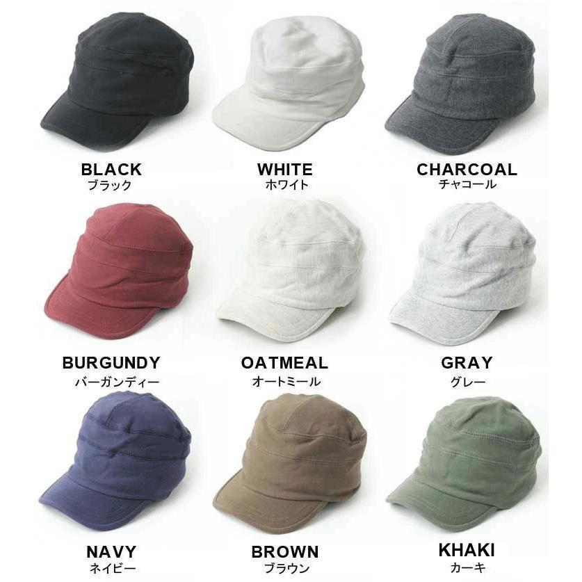 帽子 メンズ キャップ 秋冬 大きいサイズ スウェット ワークキャップ|protocol|02
