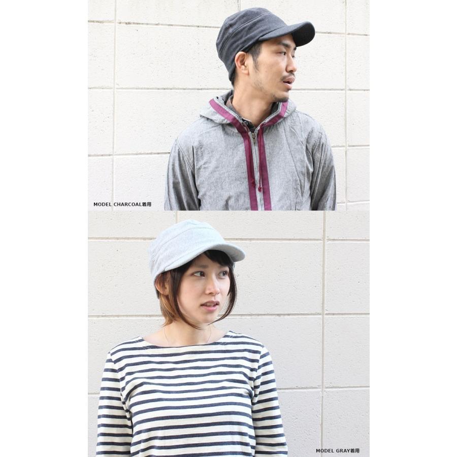 帽子 メンズ キャップ 秋冬 大きいサイズ スウェット ワークキャップ|protocol|14