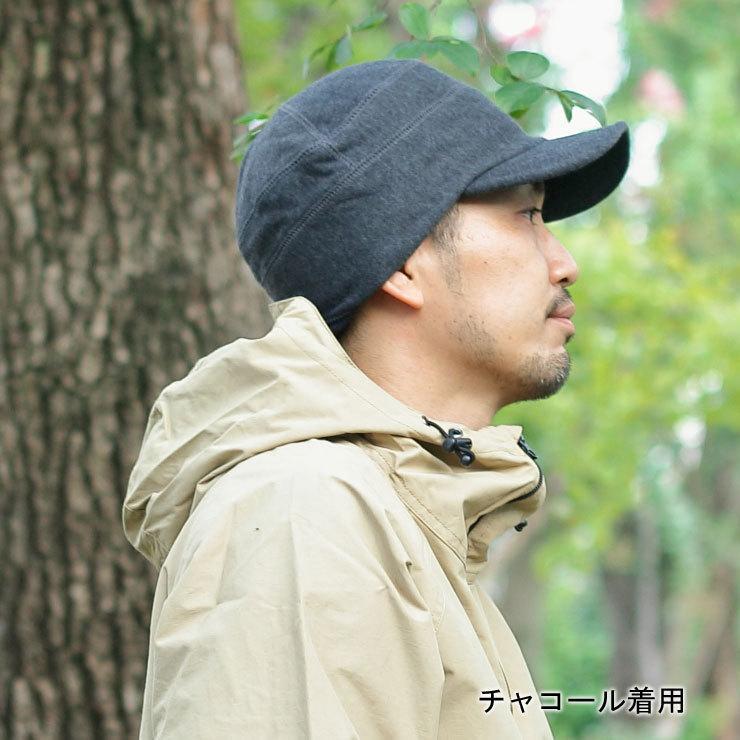帽子 メンズ キャップ 秋冬 大きいサイズ スウェット ワークキャップ|protocol|05