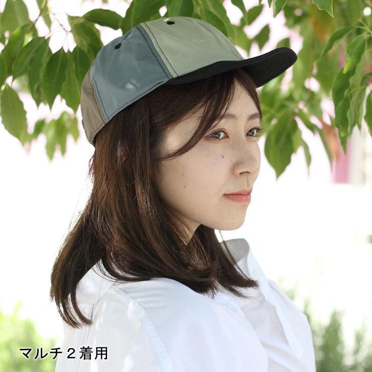 キャップ 帽子 メンズ Be PROOF コットンナイロン 6パネル CAP UVケア はっ水 吸水速乾 汗止め ポケッタブル サイズ調節可能 送料無料|protocol|06