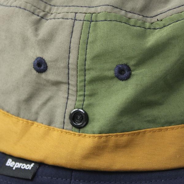 キャンプ 帽子 ハット Be PROOF コットンナイロン アドベンチャーハット / アウトドア ガーデニング 紫外線対策 / 送料無料 protocol 08