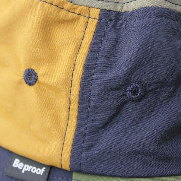 キャンプ 帽子 ハット Be PROOF コットンナイロン バケットハット / アウトドア 帽子 ガーデニング 紫外線対策 / 送料無料|protocol|07