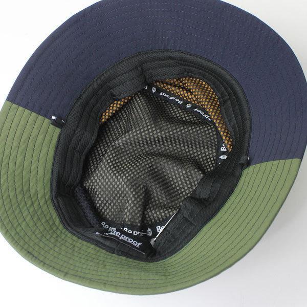 キャンプ 帽子 ハット Be PROOF コットンナイロン バケットハット / アウトドア 帽子 ガーデニング 紫外線対策 / 送料無料|protocol|09