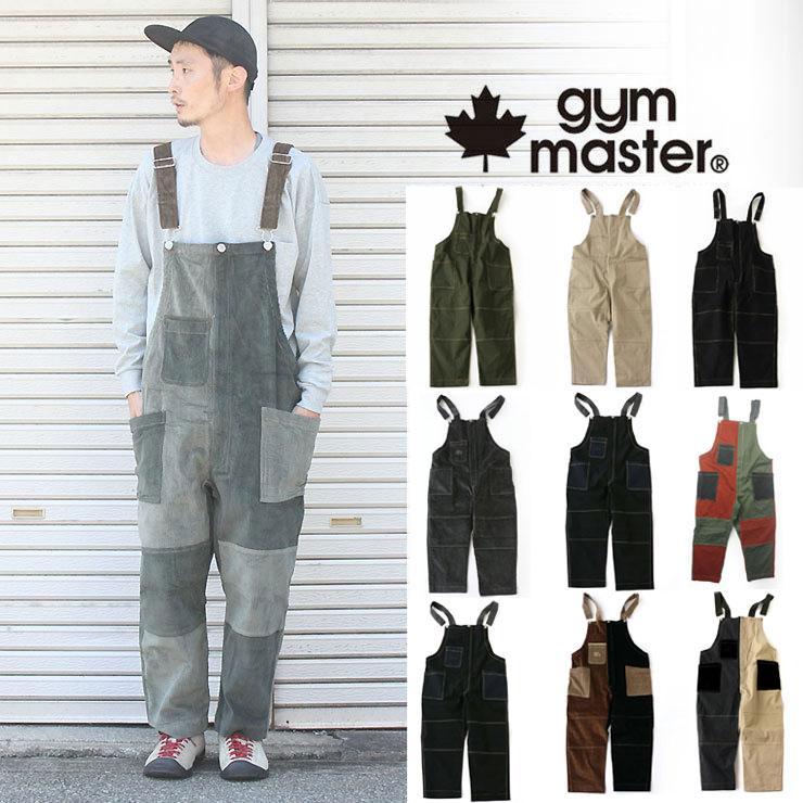 ジムマスター gym master ガーメントウォッシュ オーバーオール G757605 メンズ キャンプ アウトドア ファッション|protocol