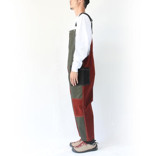ジムマスター gym master ガーメントウォッシュ オーバーオール G757605 メンズ キャンプ アウトドア ファッション|protocol|10