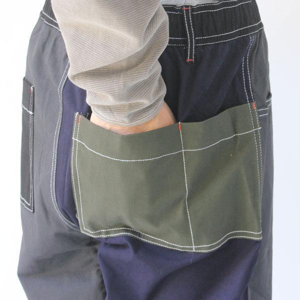 ジムマスター gym master ガーメントウォッシュ マルチポケットパンツ G757607 メンズ キャンプ アウトドア ファッション protocol 05