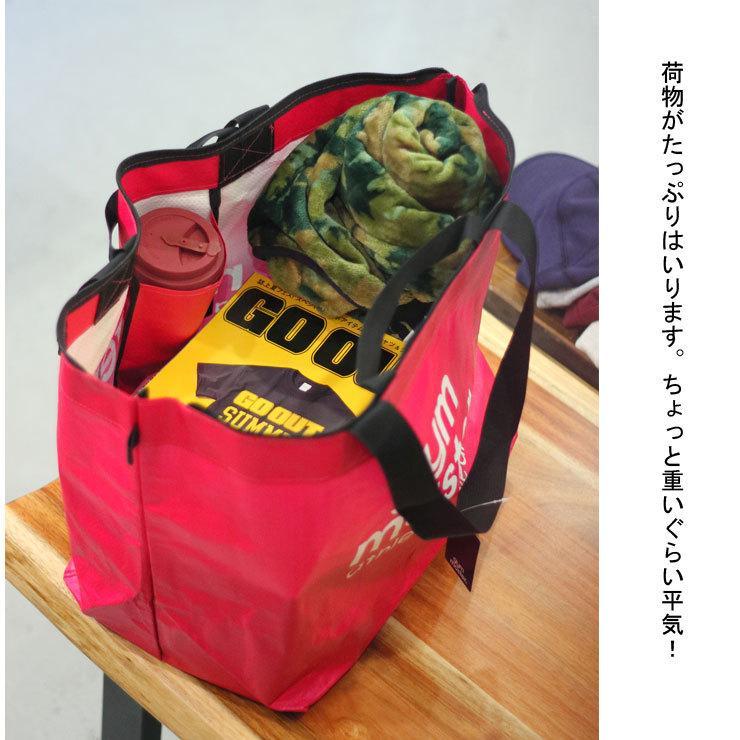 トートバック レディース エコバッグ 大きい 軽い ジムマスター メンズ gym master アウトドア キャンプ|protocol|04