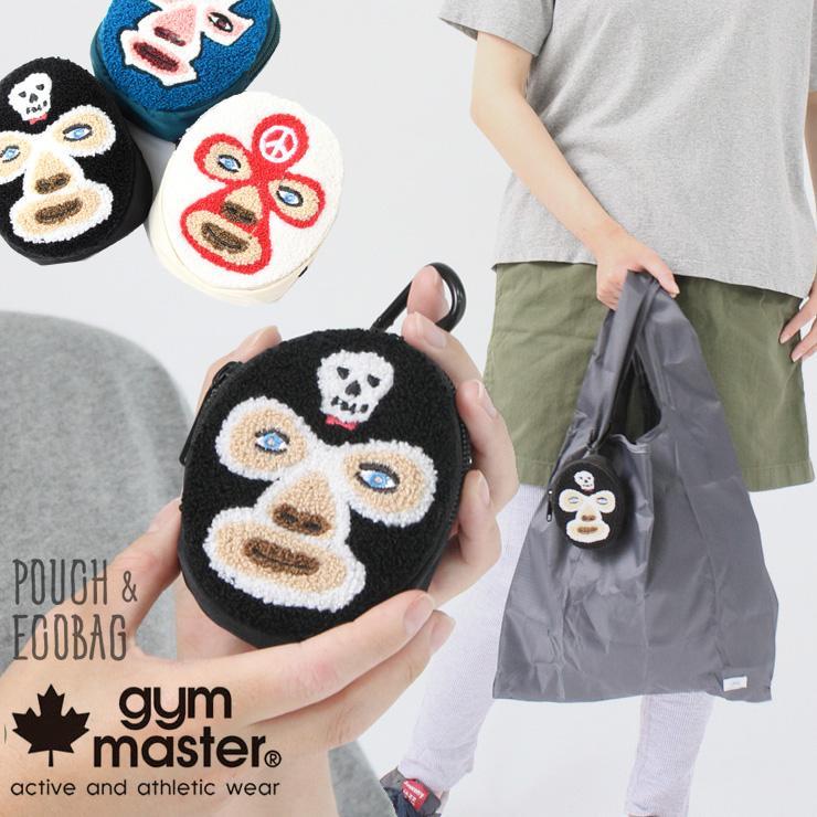 エコバッグ トートバック ジムマスター 軽い メンズ レディース gym master 覆面レスラー ポーチ G699699 エコバッグ protocol