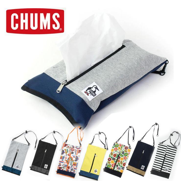 チャムス ティッシュ ケース CHUMS ティッシュケース ボックスティッシュカバー アウトドアブランド キャンプ 便利グッズ おしゃれ CH60-2693 protocol