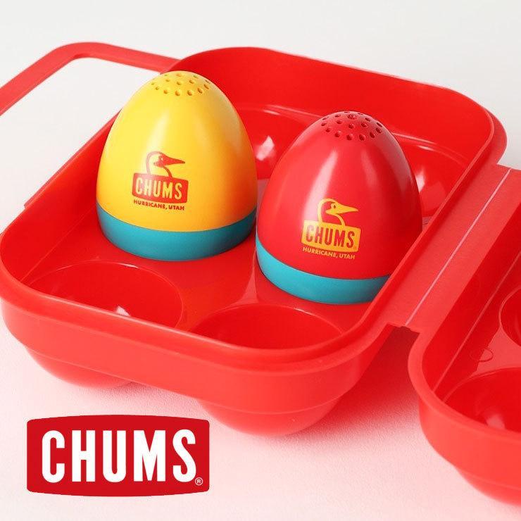 チャムス キャンプ用品 CHUMS ブービーエッグソルト&ペッパー キッチンアクセサリー CH62-1456|protocol