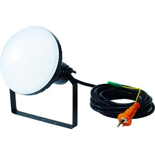 トラスコ中山 TRUSCO LED投光器 DELKURO 50W 10m アース付 2芯3芯両用タイプ(RTLE-510EP)