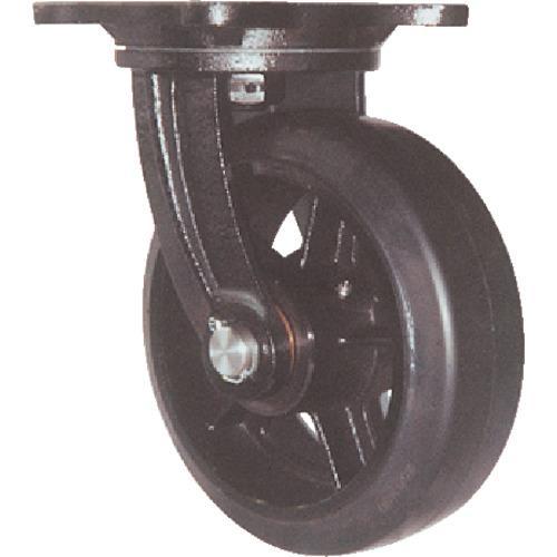 ヨドノ 鋳物重量用キャスター 許容荷重338.1 取付穴径13mm (MHA-MG150X75)