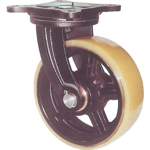ヨドノ 鋳物重量用キャスター 許容荷重774.2 取付穴径15mm (MUHA-MG200X75)