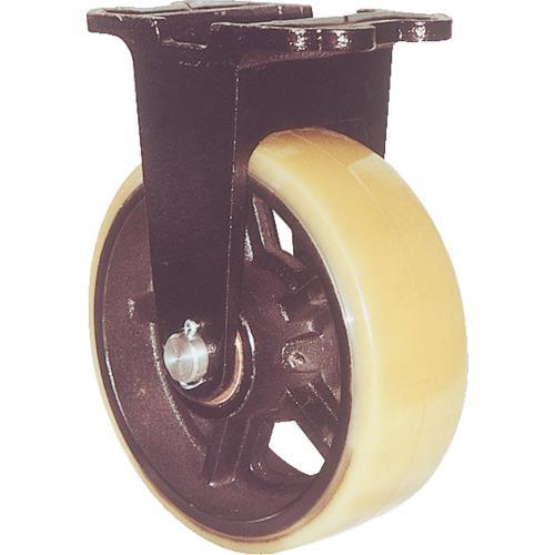 ヨドノ 鋳物重量用キャスター 許容荷重1225 取付穴径15mm (MUHA-MK250X90)