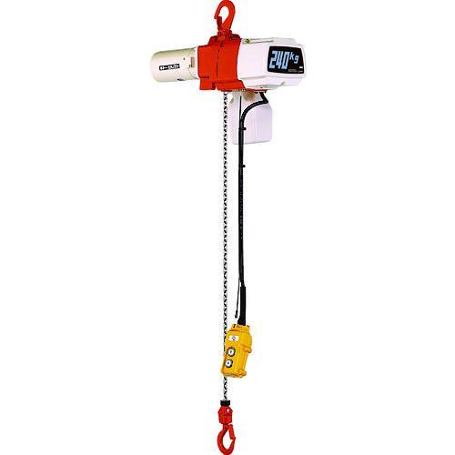 キトー セレクト電気チェーンブロック1速 単相200V 240kg(S)x3m(EDX24S)