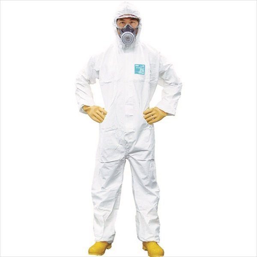 重松製作所 シゲマツ 使い捨て化学防護服 MG2000P L(10着入り)(MG2000P-L)