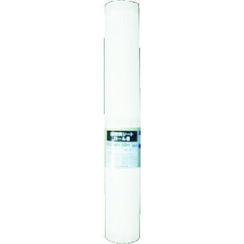 (代引き不可)ユタカメイク 白防炎シートロール(普及型) 0.9m×50m(B-WF095)