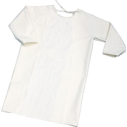 トラスコ中山 TRUSCO 難燃加工綿保護具 袖付前掛け Lサイズ(TBK-SMK-L)