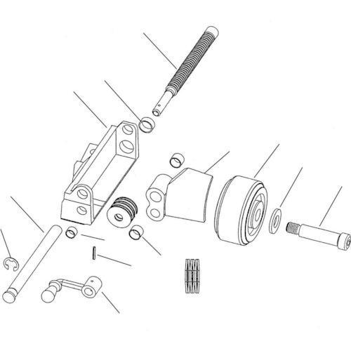 Ridge Tool Compan クランクハンドル F/918(53087)
