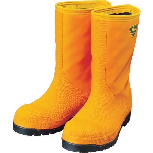 シバタ工業 SHIBATA 冷蔵庫用長靴−40℃ NR031 29.0 オレンジ(NR031-29.0)