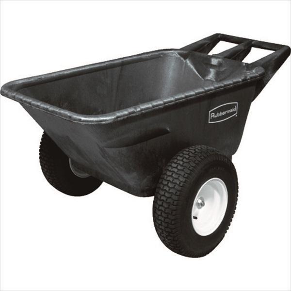 (代引き不可)ラバーメイド HDビッグホイールカート ブラック(56421007)