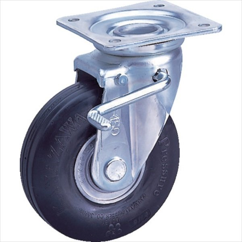 カナツー ゼロプレッシャータイヤ 自在金具S付 許容荷重115kgf 車輪径D200mm カナツー ゼロプレッシャータイヤ 自在金具S付 許容荷重115kgf 車輪径D200mm カナツー ゼロプレッシャータイヤ 自在金具S付 許容荷重115kgf 車輪径D200mm (ZP-OS 8X2.00HS-GY) 797