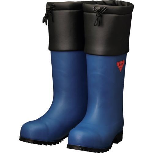 シバタ工業 SHIBATA 防寒安全長靴 セーフティベアー#1001白熊(ネイビー)(AC051-28.0)