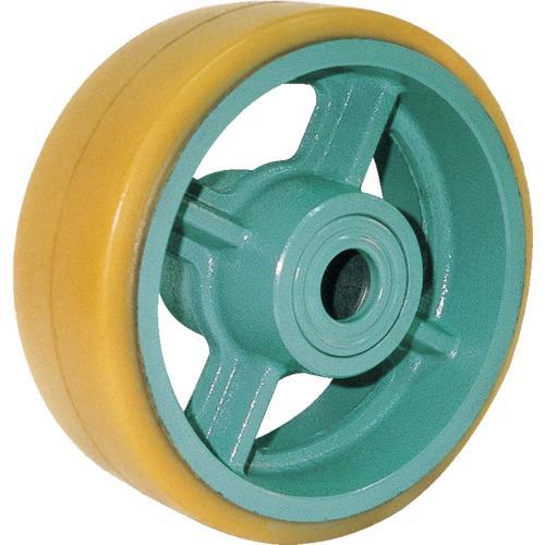 ヨドノ 鋳物重荷重用ウレタン車輪ベアリング入 UHB300X100 (UHB300X100)
