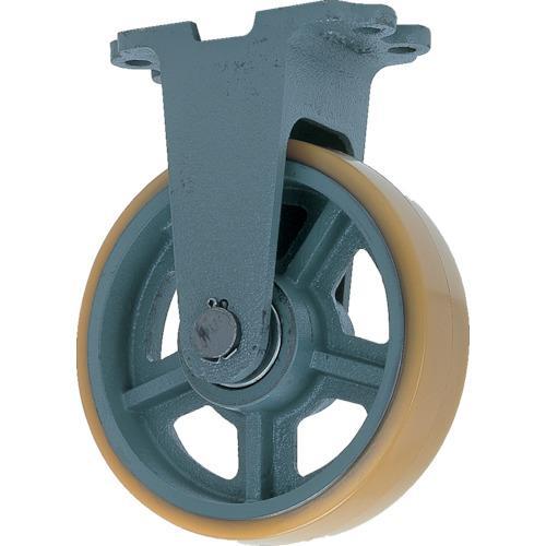 ヨドノ 鋳物重荷重用ウレタン車輪固定車付き UHBーk300X100 (UHB-K300X100)