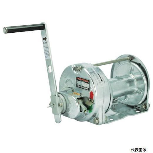 マックスプル工業 手動ウインチ(溶融亜鉛メッキ付き) (GM-10-GS)