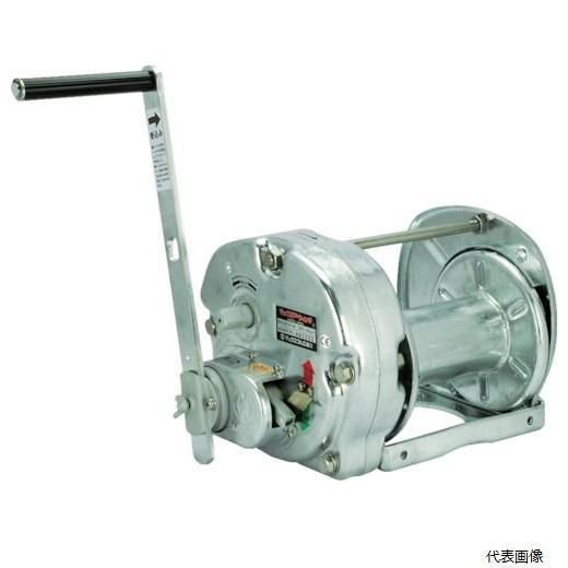 (代引き不可)マックスプル工業 手動ウインチ(溶融亜鉛メッキ付き) (GM-20-GS)