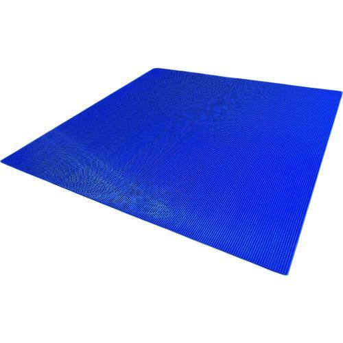 渡部工業 ワタベ 耐電用筋入コスモスマット(B山形状)1m×1m (450-1M)