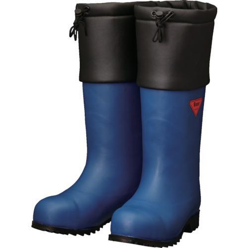 シバタ工業 SHIBATA 防寒安全長靴 セーフティベアー#1001白熊(ネイビー) (AC051-23.0)