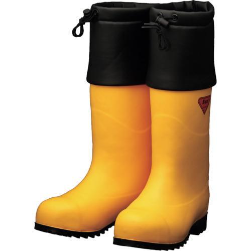 シバタ工業 SHIBATA 防寒安全長靴 セーフティベアー#1001白熊(イエロー) (AC091-28.0)